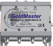 GOLDMASTER MS3/4EUA-3 МУЛЬТИСВИТЧ