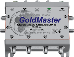 GOLDMASTER MS3/8EUP-3 МУЛЬТИСВИТЧ
